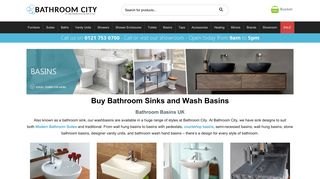 Bathroom City Basins