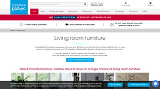 Furniture Village Sofas