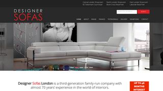Designer Sofas London