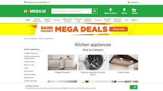 Homebase Kitchen Appliances