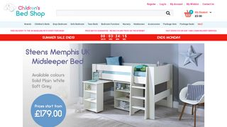 The Childrens Bed Shop