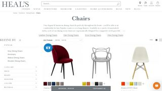 Heal's Dining Room Chairs